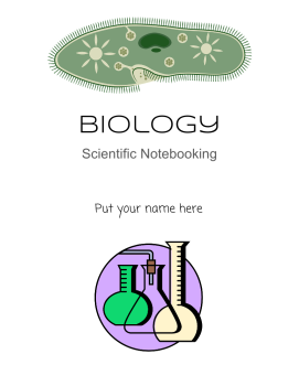 #006 Scientific Notebook