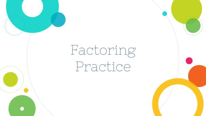 factoring-practice