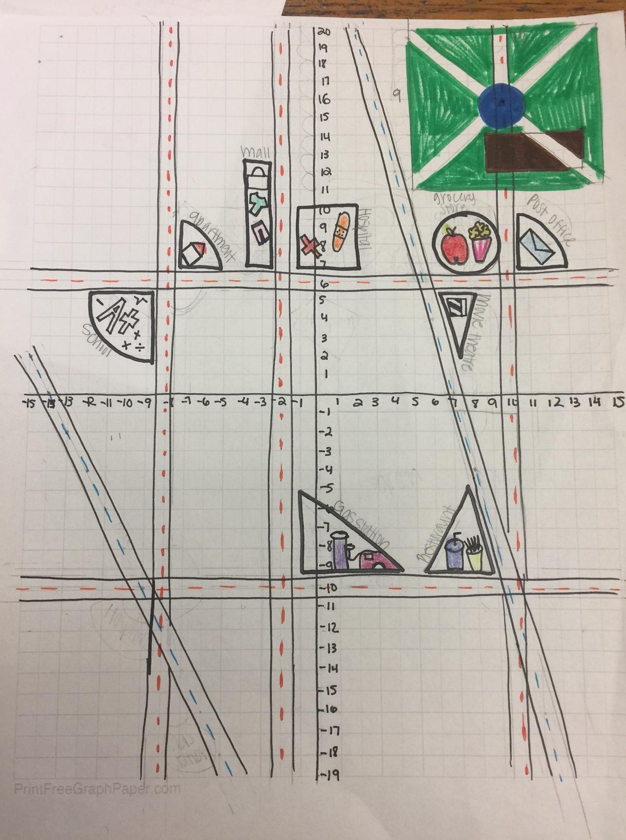 Geometric Town Project | Infinitely Teaching